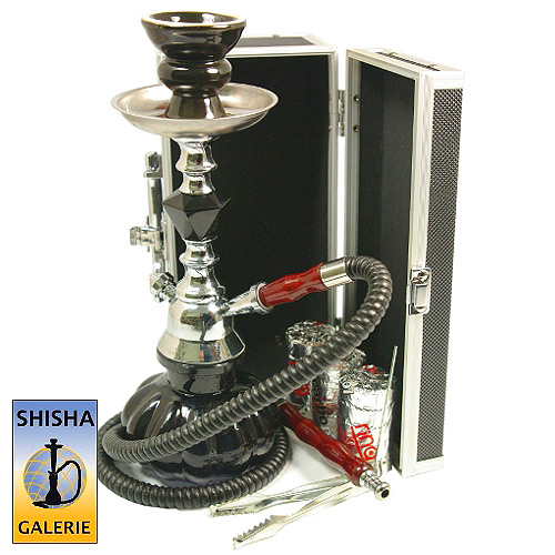 mini shisha set black diamond chest im shisha online shop g nstig kaufen. Black Bedroom Furniture Sets. Home Design Ideas