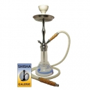 Shisha Set white blue Waves