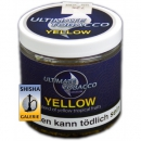Shisha Tabak Ultimate Tobacco Yellow 150g Dose Nargilem