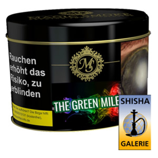 Magic Smoke Shisha Tabak The Green Mile 200g Dose