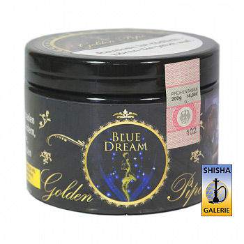 Golden Pipe Shisha Tabak Blue Dream 200g