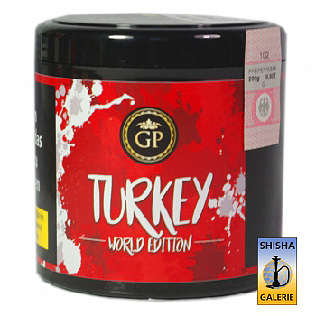 Golden Pipe Shisha Tabak Turkey 200g