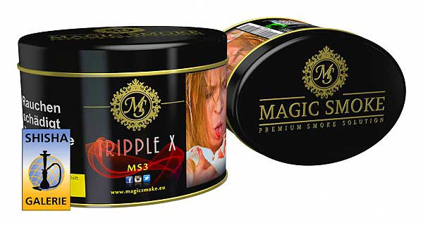 Magic Smoke Shisha Tabak Tripple X 200g Dose