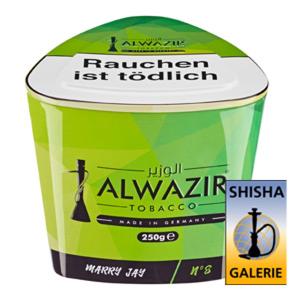 Alwazir Shisha Tabak Marry Jay 250g