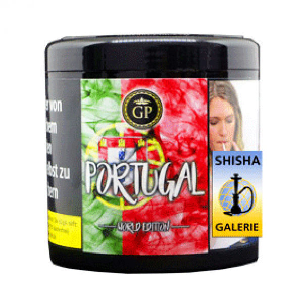 Golden Pipe Shisha Tabak Portugal 200g