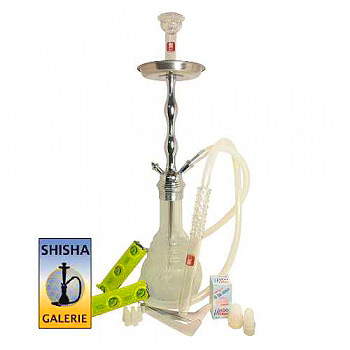 Shisha Set Deluxe White Edition