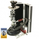 Mini Shisha Set Black Diamond & Chest